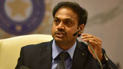 MSK Prasad is the chief selector of the Indian cricket team