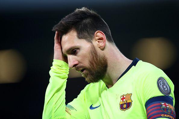 Barcelona captain - Lionel Messi