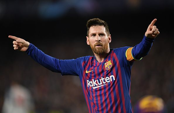 Lionel Messi has reason to be happy