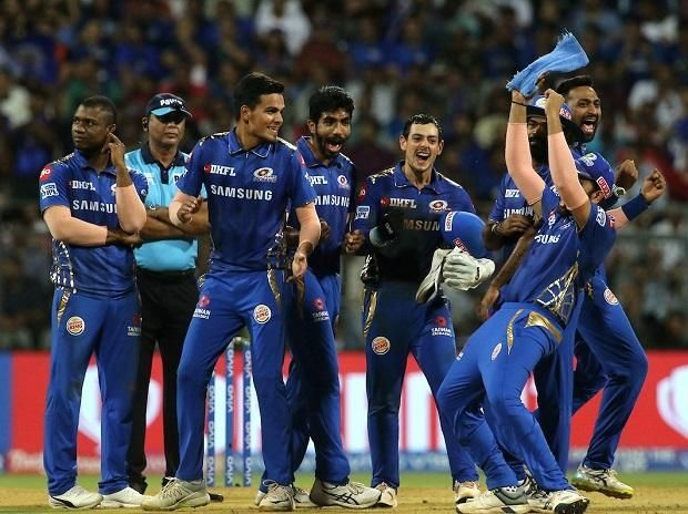 Mumbai Indians secure IPL play-off spot after dramatic finish