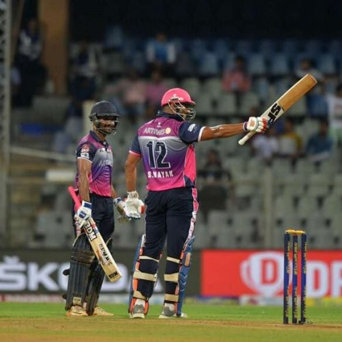Sujit Nayak was in briliant touch in the T20 Mumbai League.