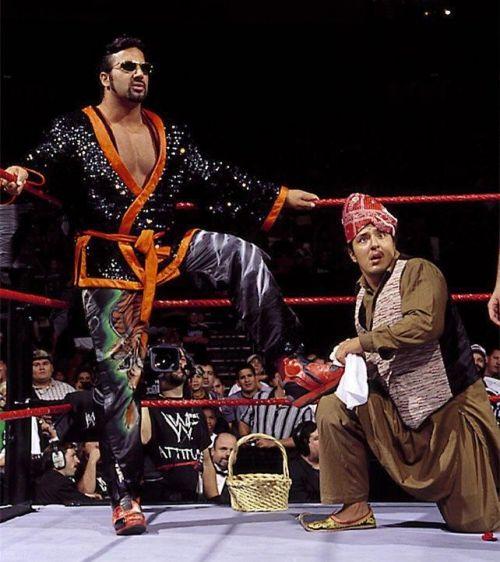 Tiger Ali Singh with Babu