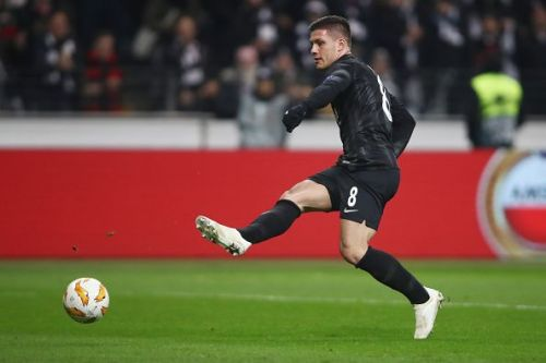 Luka Jovic is an almost complete striker