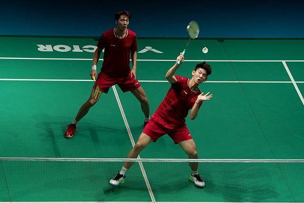 Li Junhui and Liu Yuchen
