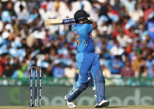 Rohit is the only Indian player to score a hundred at this venue