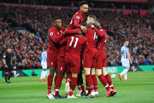 Liverpool is yet to lose a European game at home