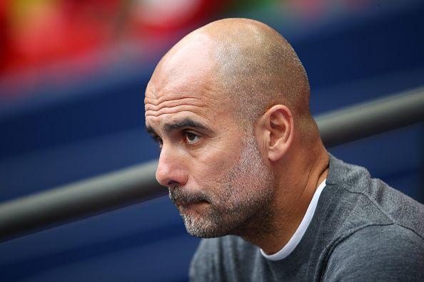 Manchester City boss, Pep Guardiola