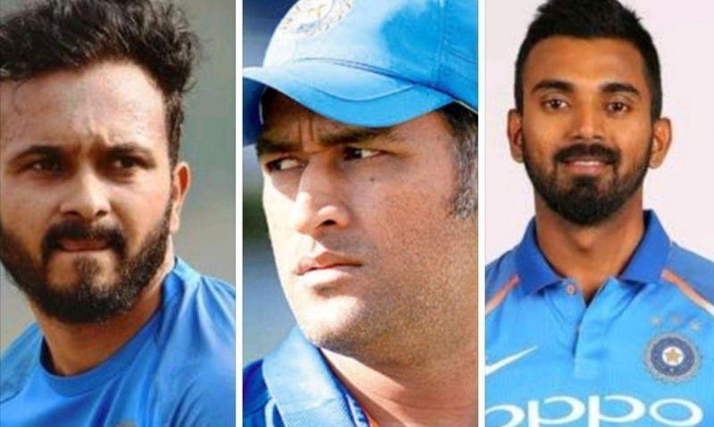 Kedar Jadav, Dhoni and Rahul