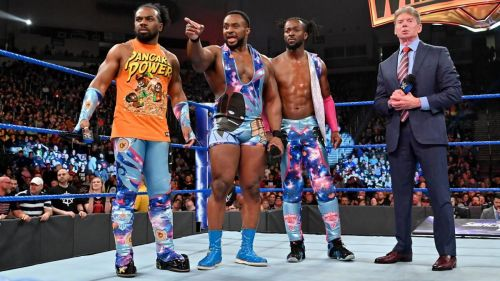 The New Day with Vince McMahon