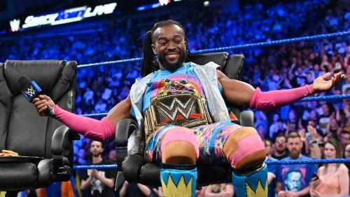 Kofi Kingston stood tall by overcoming Kevin Owens and Sami Zayn's ambush