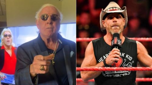 Shawn Michaels retired Ric Flair in 2008