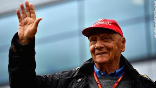 He was a well-respected member of the paddock and was a regular visitor to the Grand Prix weekends