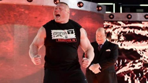 Brock Lesnar could return after Money in the Bank.