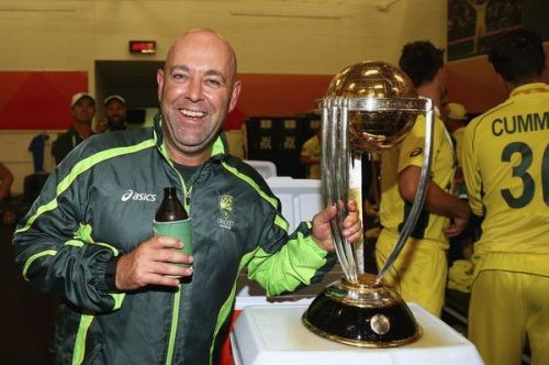 Lehmann with the 2015 World Cup