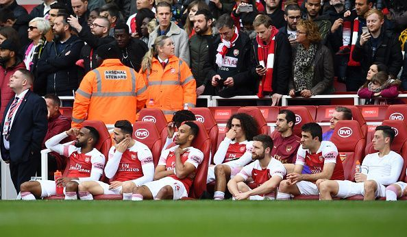 The Gunners will not participate in Europe