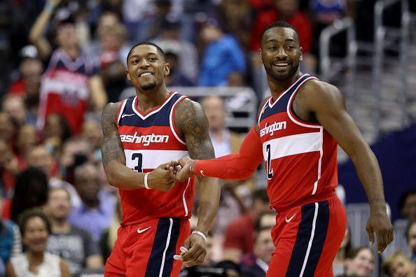The Wizards finished 8th in the East last season.