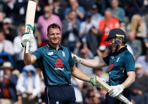 Jos Buttler quick-fire ton sets the platform for England victory.