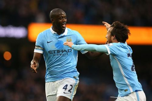 Silva and Toure were signed in 2010 by Mancini