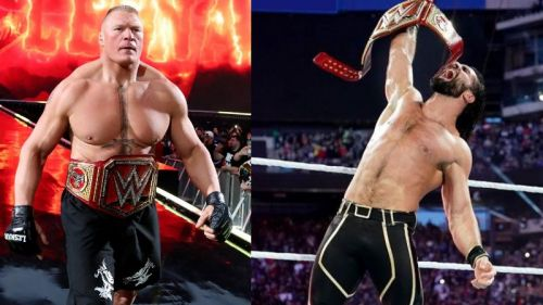 Seth Rollins beat Brock Lesnar at WrestleMania 35