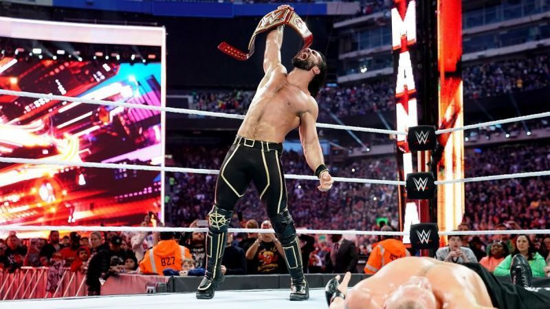 Seth Rollins won the title at WrestleMania 35