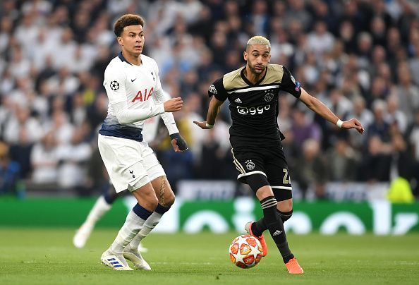 Ziyech took calculated risks, was silky in possession and dangerous as Spurs' backline found out