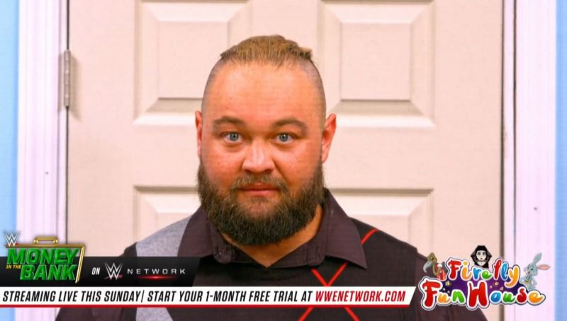 Bray during his weekly Firefly Funhouse segment, which features on Raw
