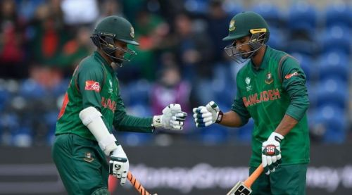 Shakib and Mahmudullah provide Bangladesh with great balance.