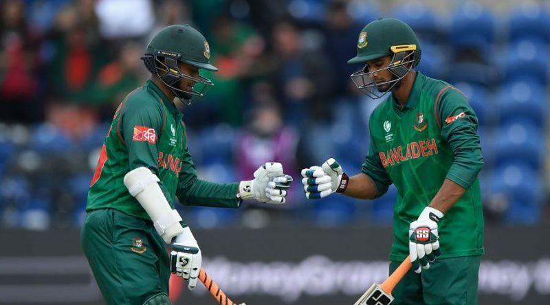 Shakib and Mahmudullah provide Bangladesh with great balance.