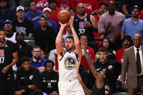 Klay Thompson is being linked with a summer move to the Clippers