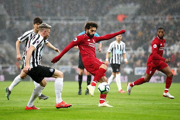 Liverpool secure a hard fought victory against Newcastle