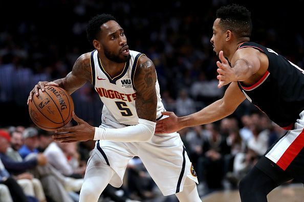 Will Barton has been poor throughout the post season