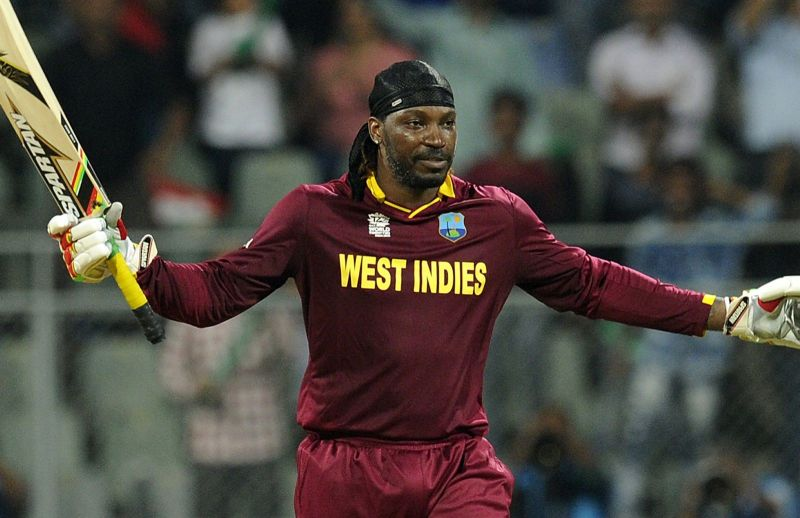 Gayle scored two 100s and two 50s in his last series