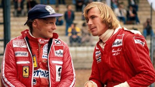 One of F1's greatest rivalries - Niki Lauda and James Hunt