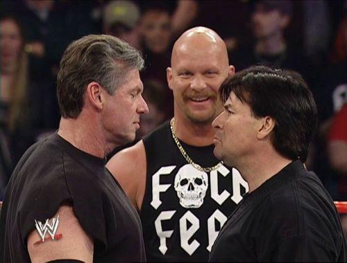 Austin, Vince, and Bischoff