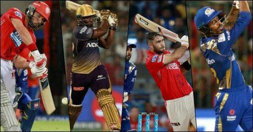 Imagine these 4 batsmen in a team's middle order (Image courtesy - IPLT20.com/BCCI)
