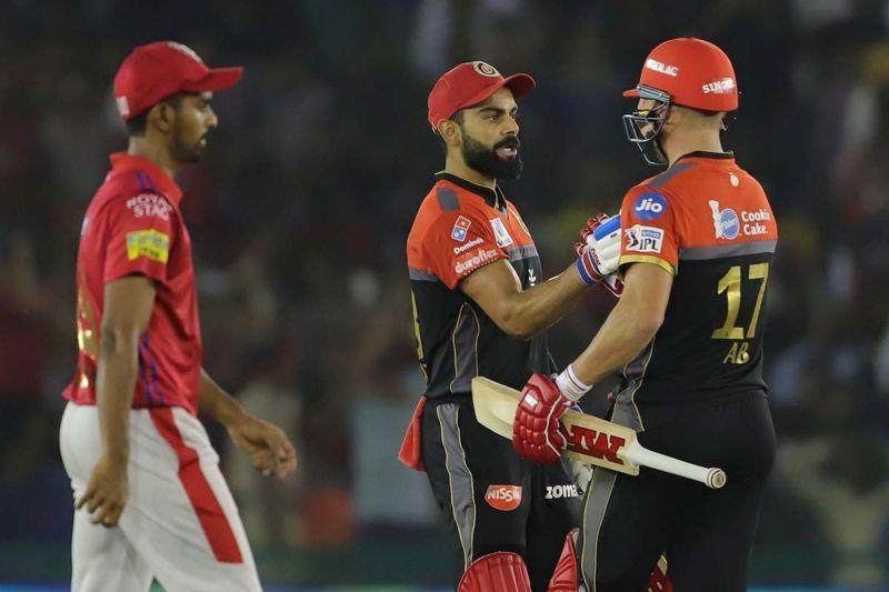 Once again, Virat Kohli and AB de Villiers were RCB