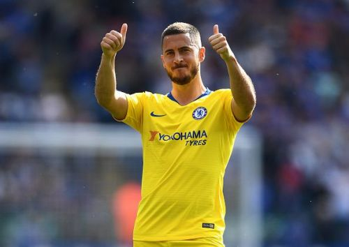 Hazard has been linked with a move to Real Madrid