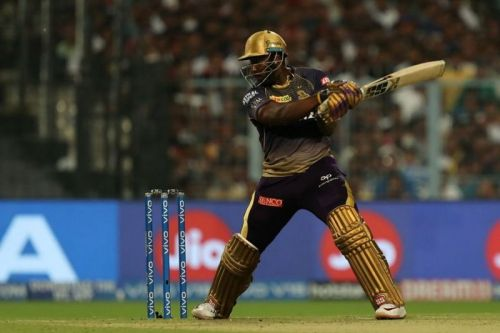 Andre Russell's efforts carried KKR throughout the tournament (Image credits: IPLT20/BCCI)