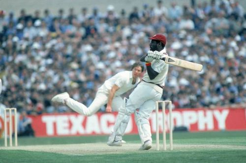 Sir Vivian Richards' 189 not out against England in 1984 stands as the highest individual score at this venue