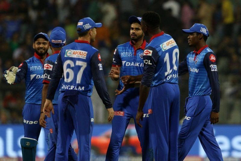Delhi Capitals and Kolkata Knight Riders played the first tied match of IPL 2019 (Image courtesy - IPLT20/BCCI)