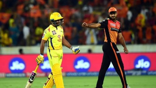 Ambati Rayudu and Vijay Shankar - Image Courtesy ( BCCI/IPLT20.com)