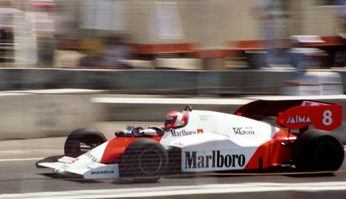 The 1985 Australian GP at Adelaide was Lauda's last ever F1 race