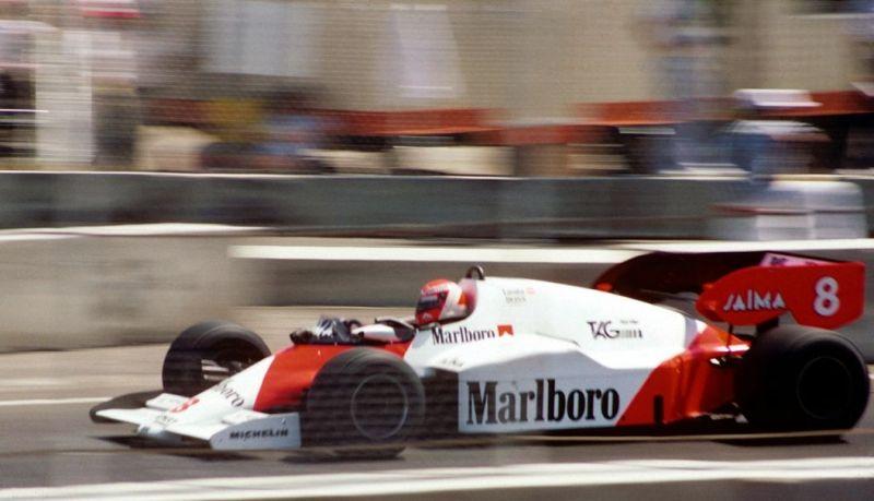 The 1985 Australian GP at Adelaide was Lauda