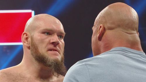Is WWE changing Lars Sullivan's move set?