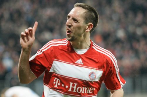 It did not take much tome for Ribery to become a club favourite The beginning of Robbery in 2009