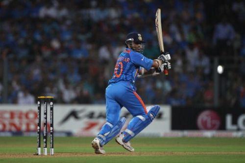 Sachin Tendulkar is India's highest run-getter in World Cup history