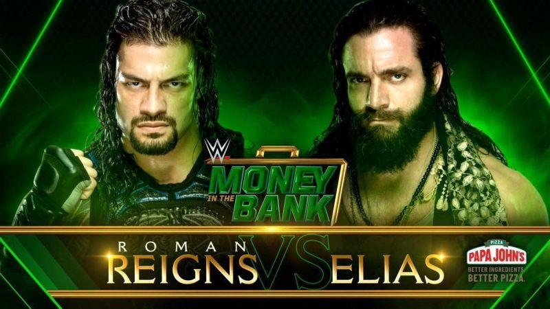 Elias tries to stop Reigns