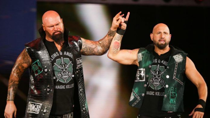 The Good Brothers are former tag team champions