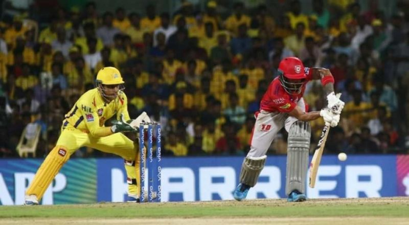MS Dhoni of CSK is the most number of dismissals by a wicket-keeper against KXIP