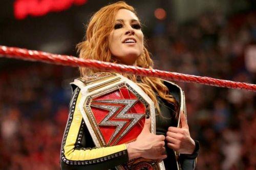 Becky 2 Belts!